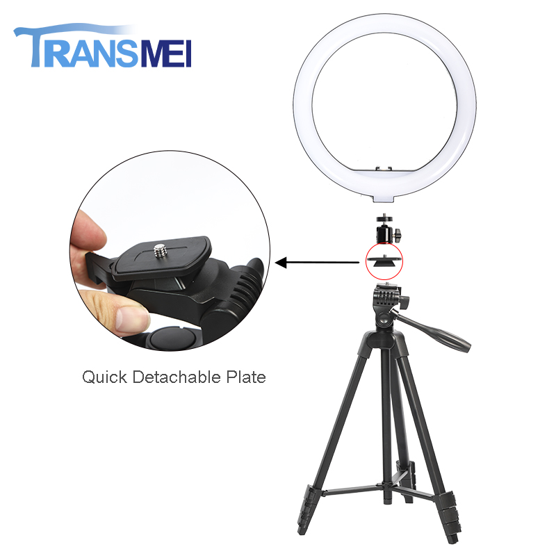 12 inch Selfie Ring Light Three Color with Tripod TM-12R320