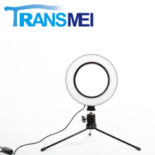 "6"" Selfie Ring Light with Metal bracket For Phone TM-160B"