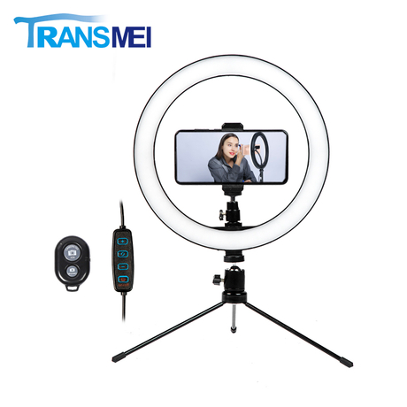 10 inch Selfie Ring Light with Tripod TM10MB